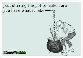 stirring the pot
