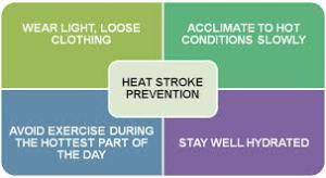 heat stroke prevention