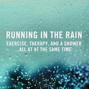 rain running quote